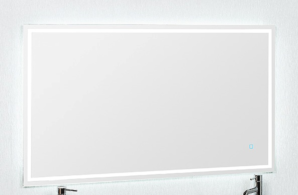 1200X700 LED MIRROR BACKLIT WITH DEMISTER AND TOUCH BUTTON