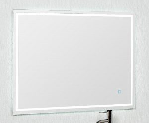 900X700 LED MIRROR BACKLIT WITH DEMISTER AND TOUCH BUTTON