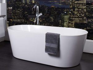 ZARA 1500 WHITE FREESTANDING BATH