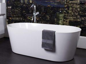ZARA WHITE 1700 FREESTANDING BATH