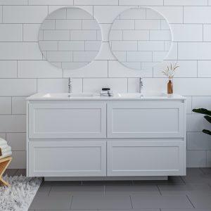 Brighton 1500 Vanity w/ Lecco Plus Polymarble Top