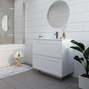 Brighton 900 Vanity w/ Etro Polymarble Top